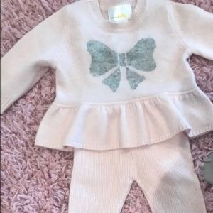 100 % Cashmere baby outfit